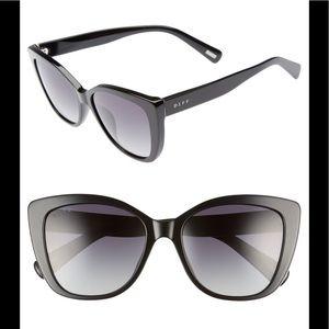Diff black sunglasses